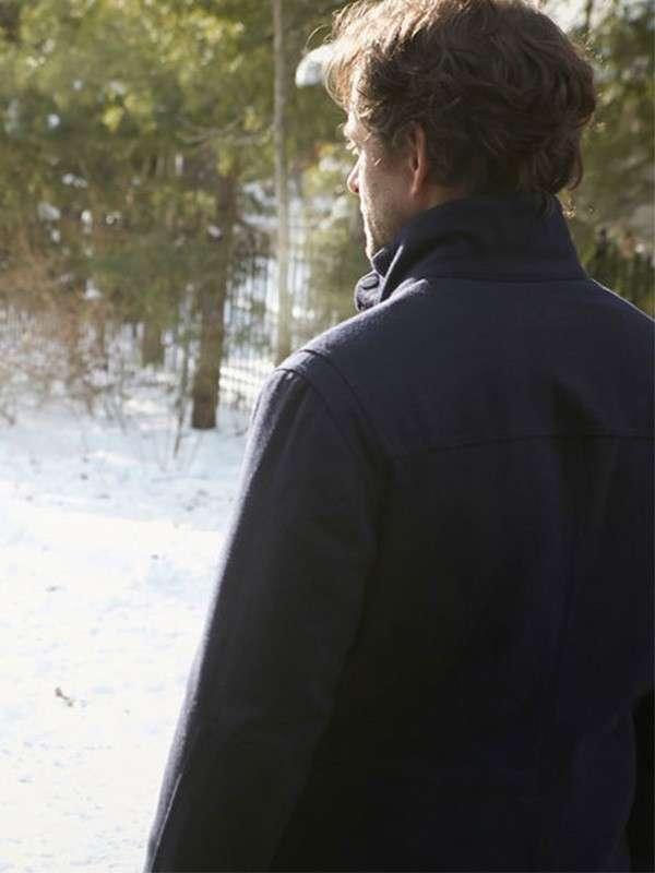 Hugh Dancy Wool Jacket
