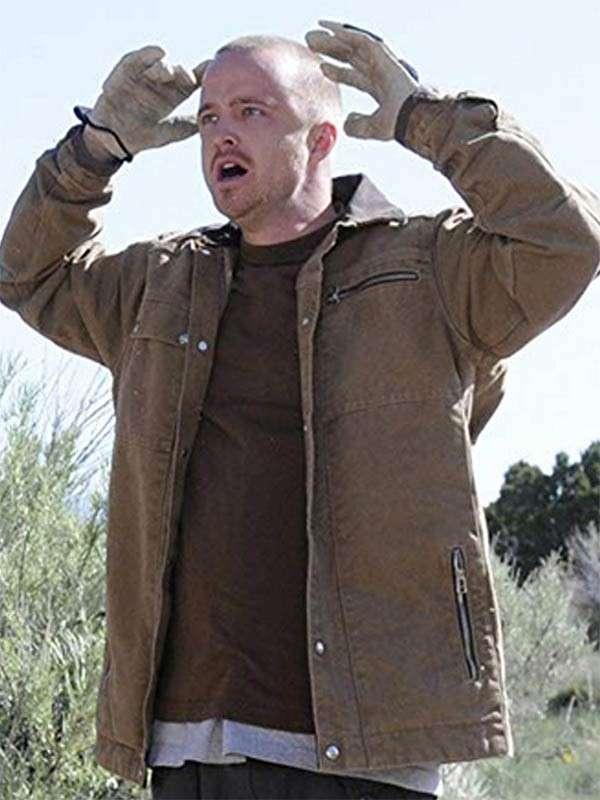 Jesse Pinkman Breaking Bad Leather Jacket