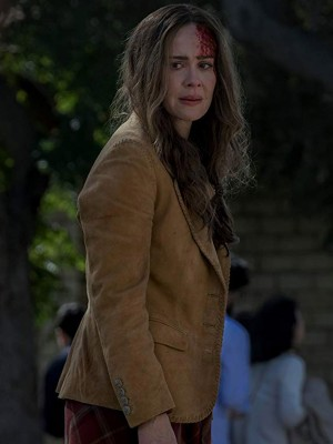 Bird Box Sarah Paulson Blazer coat