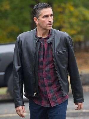 Person of Interest John Reese Black Jacket