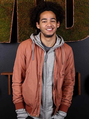 Jorge David Lendeborg Jr. Bomber Jacket