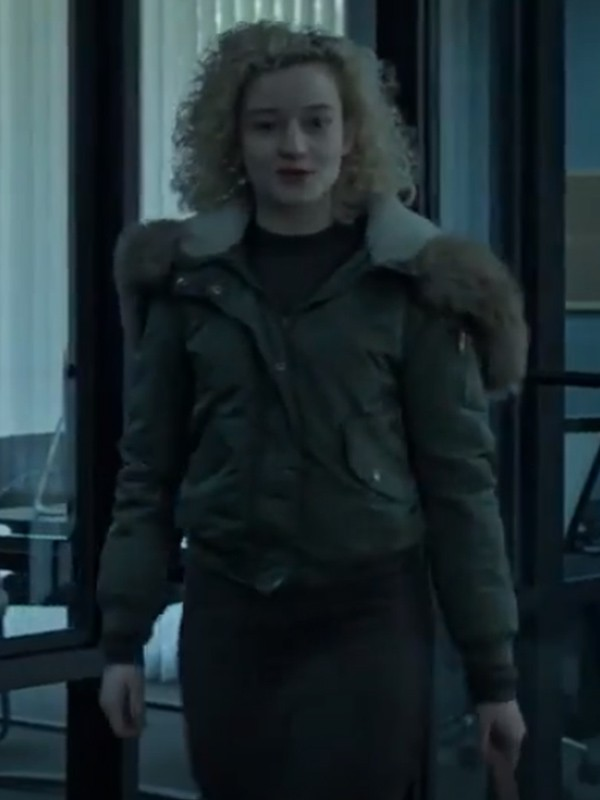Julia Garner Ozark Green Jacket