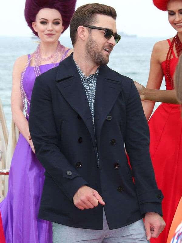 Justin Timberlake The Trolls Event Black Jacket