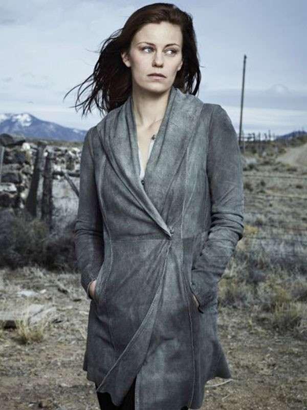 Longmire Series Cassidy Freeman Cady Gray Coat