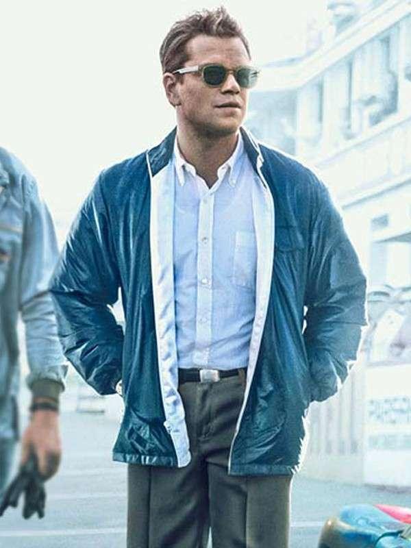 Matt Damon Ford v Ferrari Carroll Shelby Jacket