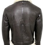 Mens B3 Bomber Shearling Leather Jacket