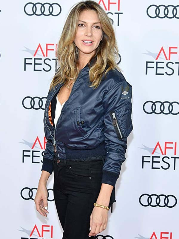 Molly's Game Event Dawn Olivieri Satin Jacket