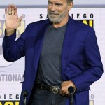 Movie Terminator Dark Fate Event Arnold Schwarzenegger Tuxedo