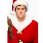 Nick Kringle Noelle Red Christmas Shearling Coat