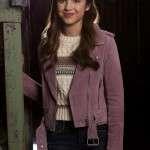 Nini High School Musical Series Biker Jacket