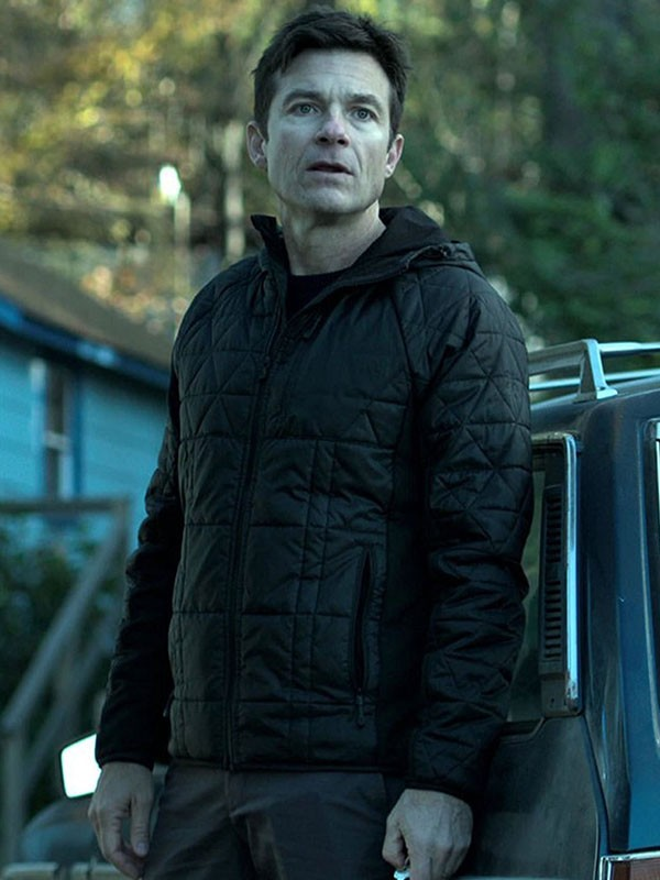 Ozark Jason Bateman Black Quilted Jacket