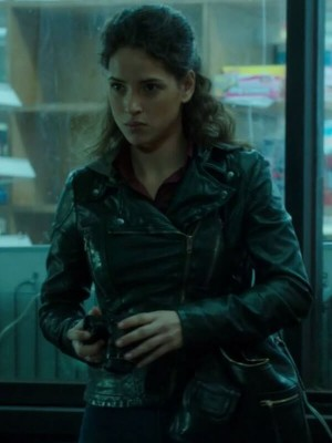Dani Silva Person of Interest Adria Arjona Jacket