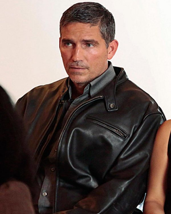 Person of Interest John Reese Black Jacket