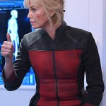 Pria Lavesque The Orville Charlize Theron Leather Jacket