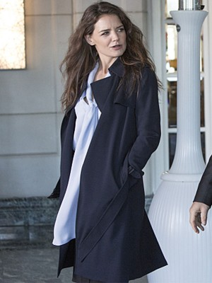 Paige Finney Ray Donovan Katie Holmes Coat