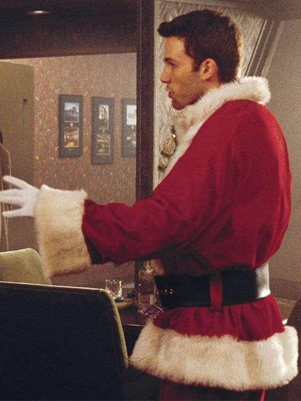 Reindeer Games Ben Affleck Santa Claus Jacket