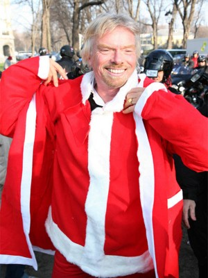 Richard Branson Red Coat