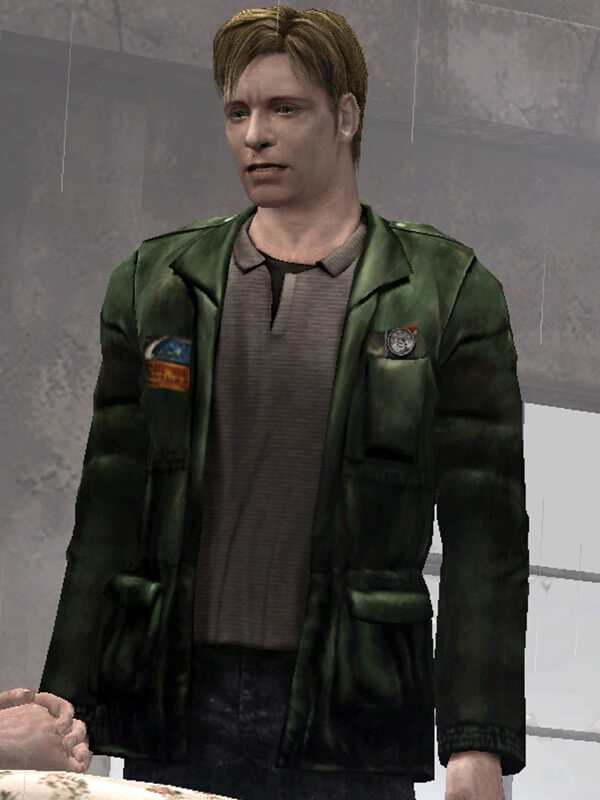 Silent Hill 2 Survival Game James Sunderland Green Jacket
