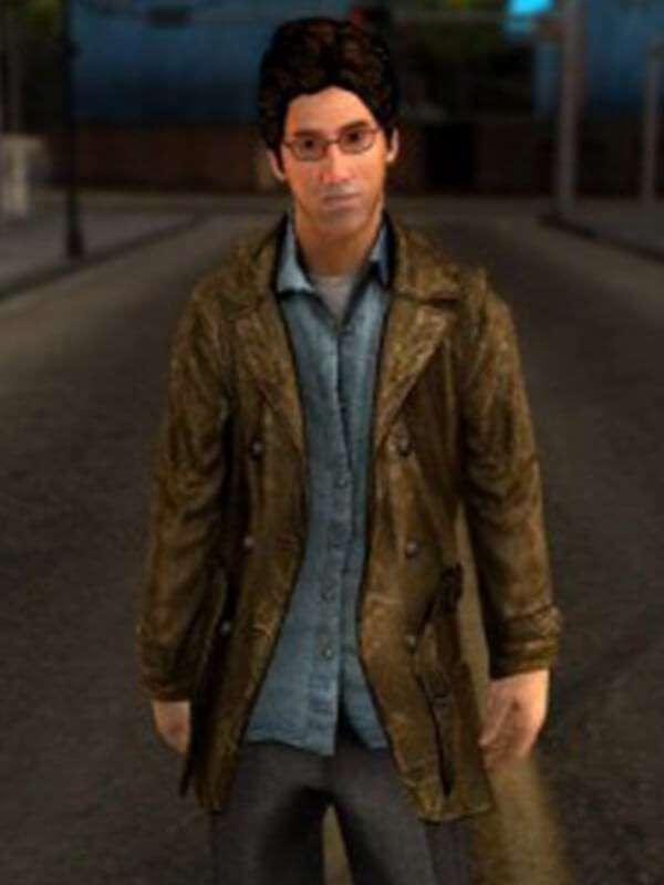Silent Hill Harry Mason Video Game Jacket