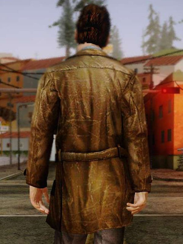 Silent Hill Harry Mason Video Game Leather Jacket