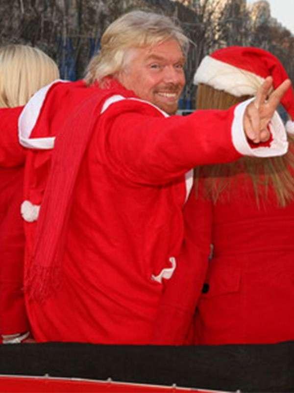 Sir Richard Branson Red Coat