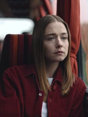 Jessica Barden The End of the Fucking World Red Jacket