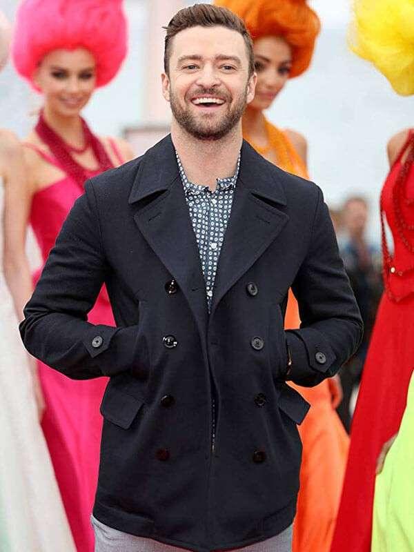 The Trolls Justin Timberlake Black Jacket