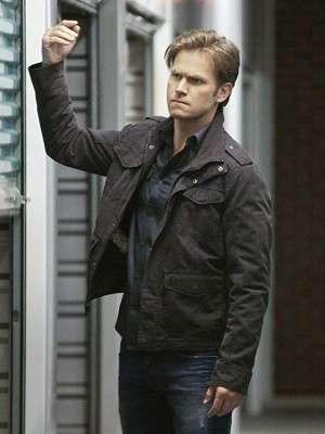 Alaric Saltzman The Vampire Diaries Black Jacket