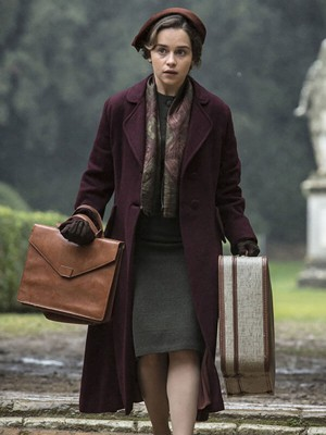 Voice from the Stone Verena Maroon Coat