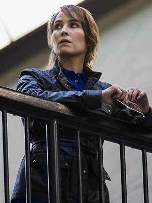 Tom Clancys Jack Ryan Noomi Rapace Leather Jacket