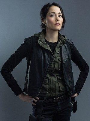 Sandrine Renault Tv Series Hostages Leather Jacket