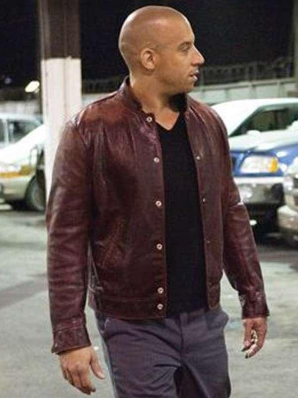 Vin Diesel Fast & Furious Brown Jacket