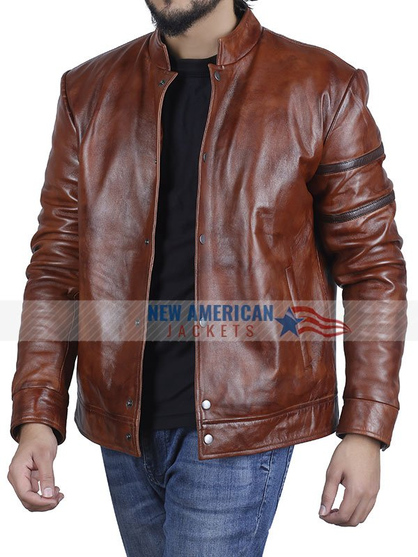 Vin Diesel Fast and Furious Brown Leather Jacket
