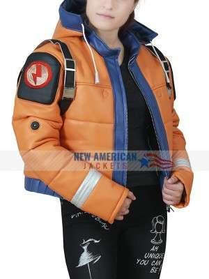 Wattson Hooded Leather Jacket