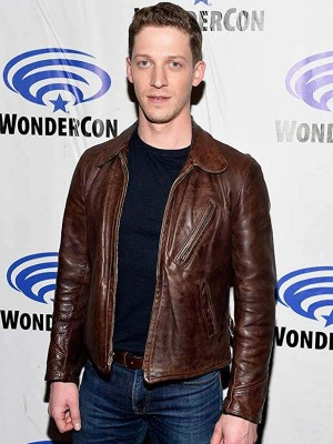 Zach Appelman Wondercon Leather Jacket