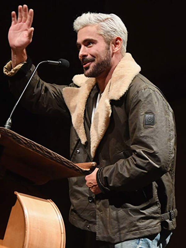 Zac Efron Extremely Wicked, Shockingly Evil and Vile Event Jacket