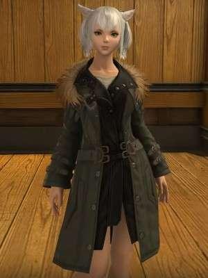 Video Game Final Fantasy XIV Rebel Shearling Coat