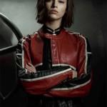 Úrsula Corberó Money Heist Biker Leather Jacket