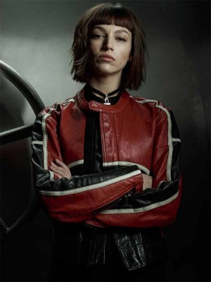 TV Series Money Heist Tokio Leather Jacket