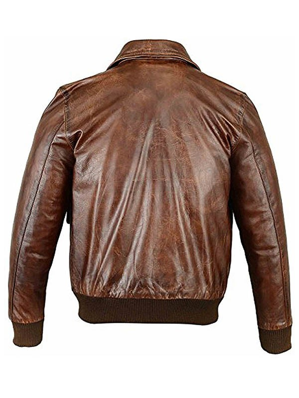 A2 Flight Bomber Leather Jackets For Mens