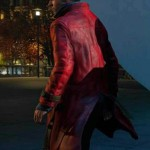 Aiden Pearce Video Game Watch Dogs Red Trench Coat