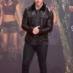 Alex Jumanji The Next Level Nick Jonas Leather Jacket