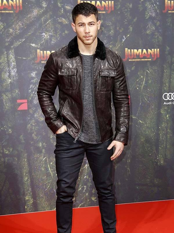 Alex Jumanji The Next Level Nick Jonas Premier Jacket
