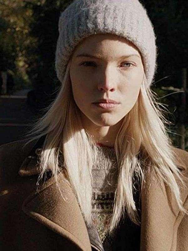 Anna Sasha Luss Wool Trench Coat