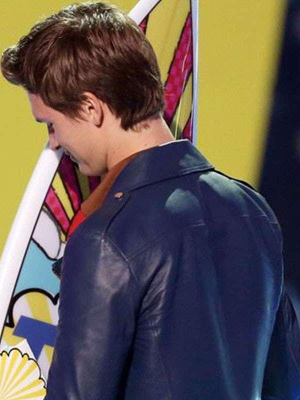 Ansel Elgort Teen Choice Awards Event Jacket