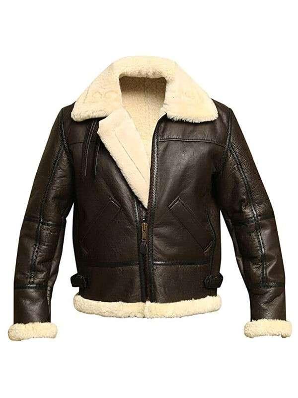 B3 Bomber Mens Aviator Winter Jacket