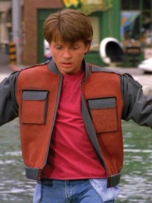 Marty Mcfly Back To The Future Leather Jacket
