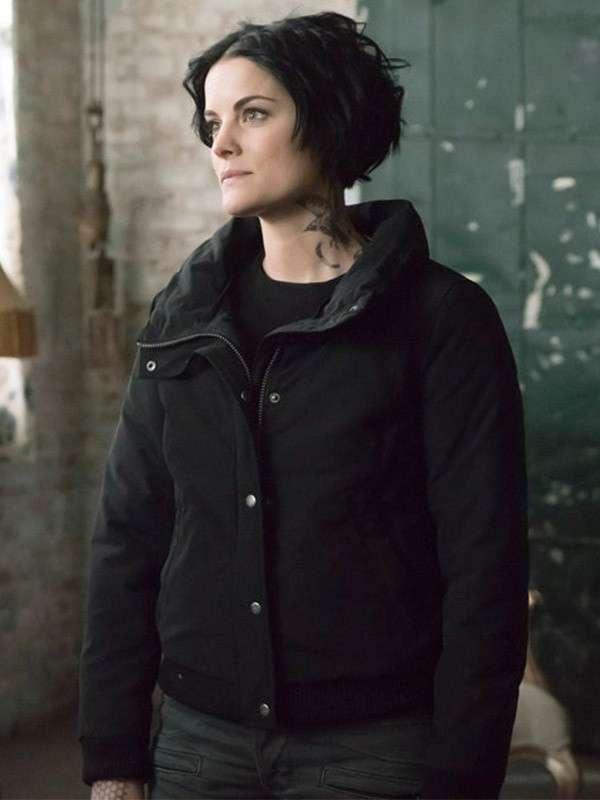 Blindspot Jaimie Alexander Classic Black Jacket