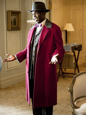 Chalky White Boardwalk Empire Coat