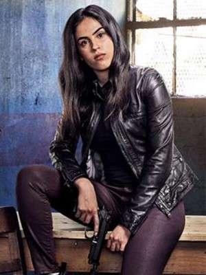Gabrielle Joubert Condor Black Leather Jacket